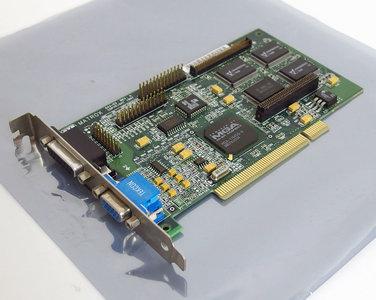 Matrox Mystique 220 MY220P/4BI/20 4MB VGA graphics video PCI PC card adapter - Pentium Windows 95 vintage retro 90s