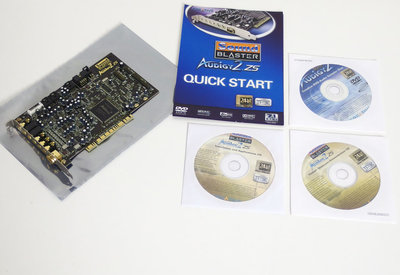 Creative Sound Blaster Audigy 2 ZS SB0350 sound audio PC PCI card - EAX 7.1