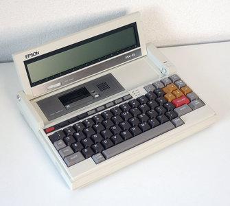 Epson PX-8 CP/M laptop - notebook portable computer vintage retro 80s