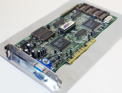 Data Expert MPG3365P S3 Trio64V+ & S3 Scenic/MX2 2MB VGA graphics & MPEG video decoder PCI PC card adapter - Pentium Windows 95 vintage retro 90s