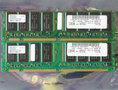 Set 2x IBM FRU 33L3074 / Hyundai HYM7V631601BTFG-75 128MB 256MB kit PC133 CL3 168-pin DIMM SDRAM memory modules
