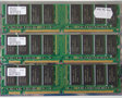 Set 3x Hynix HYM71V32635HCT8-H AA / COMPAQ P/N 140134-001 256MB 768MB kit PC133 CL3 168-pin DIMM SDRAM memory modules
