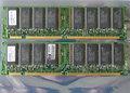 Set 2x ELPIDA MC-4532CD647XF-A75 / HP 1818-8151 256MB 512MB kit PC133 CL3 168-pin DIMM SDRAM memory modules - P1538-63001