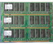 Set 3x Samsung M366S3253DTS-C7AQ0 / COMPAQ P/N 140134-001 256MB 768MB kit PC133 CL3 168-pin DIMM SDRAM memory modules