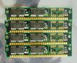 Set 4x Texas Instruments TI TMS44400DJ-70 1 MB 1 MB 4 MB 4MB kit 70 ns 70ns 30-pin gold contacts SIMM non-parity RAM memory modules - vintage retro 90s