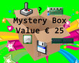 Mystery box with classic computer hardware and/or software worth € 25,- vintage retro tech 80s 90s