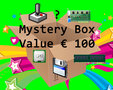 Mystery box with classic computer hardware and/or software worth € 100,- vintage retro tech 80s 90s