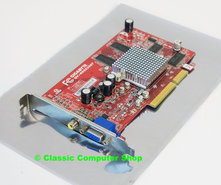 Gigabyte-GV-R955256T-256MB-DDR-128-bit-ATI-Radeon-9550-VGA-RCA-composite-video-out-DX9-graphics-AGP-8x-PC-card-adapter
