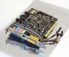 Creative-Sound-Blaster-Live!-SB0060-sound-audio-PC-PCI-card-w--cables