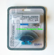 New-&-sealed-Zalman-ZM-NBF47-fanless-northbridge-cooler-heatsink-NOS