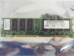Mosel-Vitelic-V436532S04VATG-75-IBM-FRU-33L3076-256MB-PC133-CL3-168-pin-DIMM-SDRAM-memory-module
