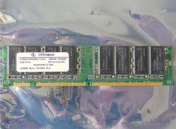 Infineon-HYS64V32300GU-7.5-C2-256MB-PC133-CL3-168-pin-DIMM-SDRAM-memory-module