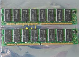 Set-2x-Infineon-HYB39S128800CT-7.5-256MB-512MB-kit-PC133-CL3-168-pin-DIMM-SDRAM-memory-modules