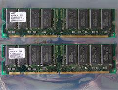 Set-2x-Samsung-M366S3323DTS-C7C-256MB-512MB-kit-PC133-CL2-168-pin-DIMM-SDRAM-memory-modules
