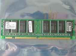 Samsung-M366S3323CT0-C75-HP-1818-8151-256MB-PC133-CL3-168-pin-DIMM-SDRAM-memory-module-P1538-63001