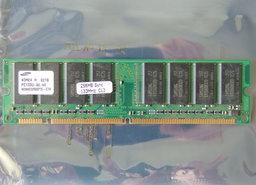 Samsung-M366S3253DTS-C7A-COMPAQ-P-N-140134-001-256MB-PC133-CL3-168-pin-DIMM-SDRAM-memory-module