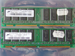 Set-2x-Micron-MT16LSDT3264AG-13EB1-256MB-512MB-kit-PC133-CL2-168-pin-DIMM-SDRAM-memory-modules