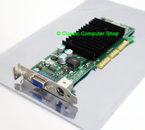 NVIDIA-P118-64MB-DDR-NVIDIA-GeForce4-MX440-VGA-TV-out-DX7-graphics-AGP-8x-low-profile-PC-card-adapter