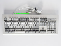 Chicony-KB-5911-QWERTY-PS-2-beige-white-PC-keyboard-vintage-retro-90s