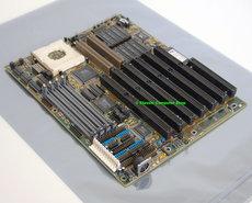 FIC-486PVT-IO-socket-3-baby-AT-PC-motherboard-main-system-board-+-cache-ISA-VLB-486-486DX4-DOS-PGA168-vintage-retro-90s