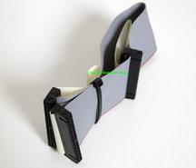 IDE-2x-40-pin-40-conductor-PC-internal-flat-ribbon-cable-26cm-grey-HDD-hard-disk-drive-CD