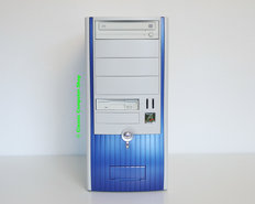 Custom-midi-tower-PC-Pentium-III-667MHz-|-256MB-RAM-|-GeForce-FX5500-|-DVD-ROM-|-FDD-|-Windows-98SE-PCI-USB-parallel-LPT-floppy-diskette-VGA-DVI-retro-gaming-game-vintage