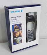 NEW-Ericsson-A2618S-GSM-dual-band-celestial-black-vintage-retro-00s-mobile-cell-phone