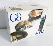 NEW-NEC-G8-GSM-900-vintage-retro-90s-mobile-cell-phone