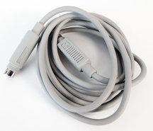 Apple-ADB-keyboard-cable-590-4501-B-190-cm-grey-vintage-retro-Macintosh-SE-Classic-Performa-IIgs