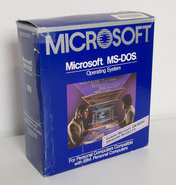 Microsoft-MS-DOS-3.2-English-Packaged-Product-5.25-floppy-disk-PC-operating-system-complete-mint-in-box-MIB-vintage-retro-80s