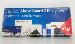 Intel-Above-Board-2-Plus-PSMB5200-RAM-memory-expansion-16-bit-MCA-card-adapter-PS-2-vintage-retro-80s-90s