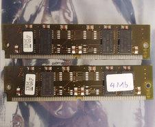Set-2x-IBM-11D-1320BA-70-4-MB-4MB-8-MB-8MB-kit-70-ns-70ns-72-pin-SIMM-non-parity-FPM-RAM-memory-modules-vintage-retro-90s