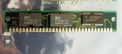 CM-ST514400J-06--MB-60-ns-60ns-32-pin-SIMM-parity-RAM-memory-module-vintage-retro-80s
