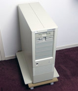 Refurbished-HP-Hewlett-Packard-Vectra-RS-25C-MS-DOS-Windows-3.x-386-PC-vintage-retro-90s-ISA-386DX-i386-big-tower-workstation-server-high-end