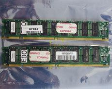 Set-2x-Compaq-247288-002-32-MB-32MB-64-MB-64MB-kit-60-ns-60ns-168-pin-DIMM-ECC-EDO-RAM-memory-modules