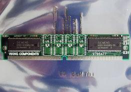 Siemens-HYB5118165BSJ-50-4-MB-4MB-50-ns-50ns-72-pin-SIMM-non-parity-EDO-RAM-memory-module-vintage-retro-90s