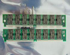 Set-2x-Hyundai-HYM532100AM-70-4-MB-4MB-8-MB-8MB-kit-70-ns-70ns-72-pin-SIMM-non-parity-FPM-RAM-memory-modules-vintage-retro-90s