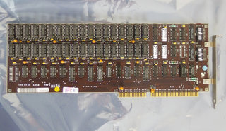 IBM-PC-AT-5170-parity-mem.-card-1501518-RAM-memory-expansion-16-bit-ISA-card-adapter-vintage-retro-80s-DOS-286