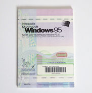 New-&-sealed-Microsoft-Windows-95-OSR-2.1-OEM-USB-support-Dutch-CD-ROM-PC-operating-system-w--product-key-NOS-vintage-retro-90s