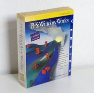 New-&-sealed-PFS:WindowWorks-version-2-Dutch-3.5-disk-PC-office-set-complete-in-box-NIB-NOS-DOS-Windows-3.1-vintage-retro-90s