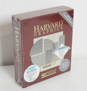 New-&-sealed-Harvard-Graphics-v2.12-English-3.5-&-5.25-floppy-disk-PC-chart-program-complete-in-box-NOS-NIB-DOS-vintage-retro-80s