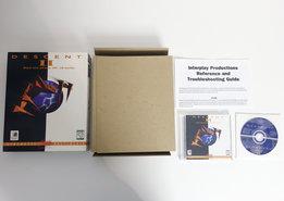 PC-CD-ROM-game-Descent-II-Interplay-complete-big-box-CIB-shooter-FPS-DOS-Windows-95-Pentium-vintage-retro-90s