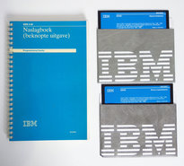 IBM-DOS-3.30-Dutch-5.25-floppy-disk-PC-operating-system-vintage-retro-80s