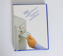 IBM-Personal-System-2-model-80-Quick-Reference-and-Reference-Diskette-PS-2-manual-system-disk-vintage-retro-80s-#2