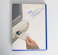IBM-Personal-System-2-model-30-Handboek-voor-de-gebruiker-en-Introductiediskette-PS-2-manual-reference-system-disk-vintage-retro-80s-#2