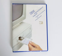 IBM-Personal-System-2-model-50-Handboek-voor-de-gebruiker-en-Introductiediskette-PS-2-manual-reference-system-disk-vintage-retro-80s