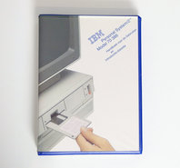 IBM-Personal-System-2-model-70-386-Handboek-voor-de-gebruiker-en-Introductiediskette-PS-2-manual-reference-system-disk-vintage-retro-80s