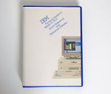 IBM-Personal-System-2-model-57-SLC-Quick-Reference-and-Reference-Diskette-PS-2-manual-system-disk-vintage-retro-90s