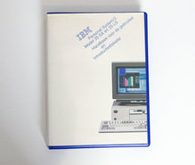IBM-Personal-System-2-model-35-SX-en-35-LS-Handboek-voor-de-gebruiker-en-Introductiediskette-PS-2-manual-reference-system-disk-vintage-retro-90s