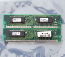 Set-2x-NEC-MC-422000F32PA-60-COMPAQ-185172-002-4MB-8MB-kit-60ns-72-pin-SIMM-non-parity-EDO-RAM-memory-modules-vintage-retro-90s